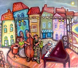 איקי בוברמןם, להקת רחוב