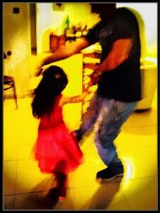 אשר גיבל, ריקוד ילדותי