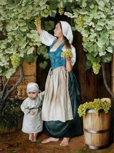Oleg Zubko גן עדן בחצר של אמא...