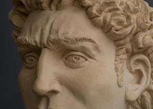 אבי גונן, דויד, פסל תחילת דרכי