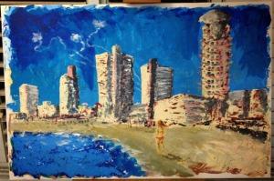 מיקי גולדשטיין, חוף תל אביב