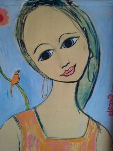 אלגונס פברה, לאישה יצירתית....