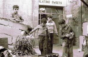 אשר גיבל, 5 ילדים וחנות קעקועים, 1974