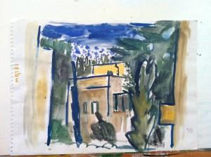 עמי רוזנברג, נוף בקעה, ירושלים