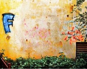 אשר גיבל, הכתובת הייתה על הקיר
