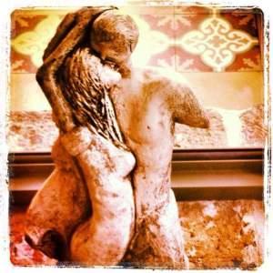 איילה אילן, צילום הפסל