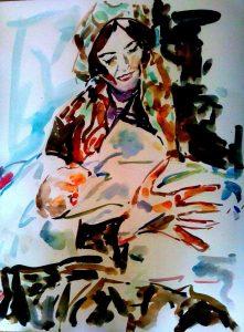 מרים שחורי, כאתני נולדה לפני כ-8 שנים