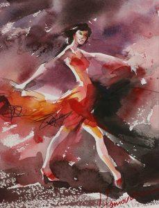 Lyudmila Tomova Lucy ריקוד לסוף השנה