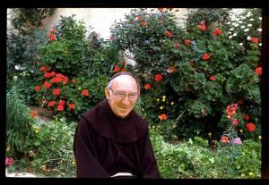 אשר גיבל, מנזר השתקנים עין כרם, ירושלים 1970