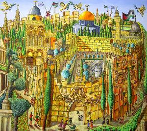 רפי פרץ, ירושלים עיר העתיקה