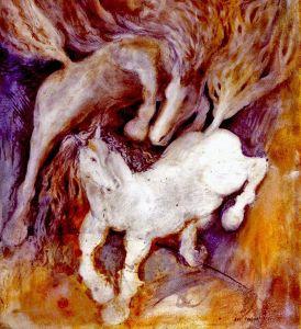 אבי פלר, סוסים