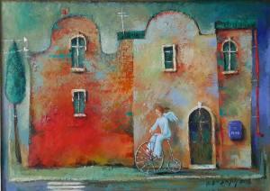 Tamaz Gogoladze אהבה שכתובה על הקיר