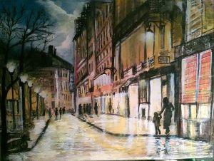 Bo Schultz רחוב בפריס