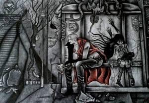 Celeste Gómez דנטה בלימבו סיטי, 2014 מותר לבכות אומר השטן