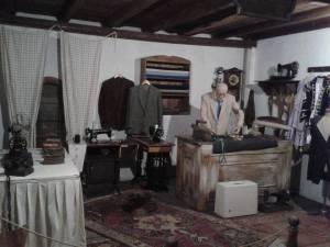 Yaslem Tablo Inka העבודה ומכונת תפירה