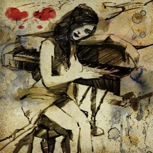 ישראל מצגר, הפסנתר המאוהב