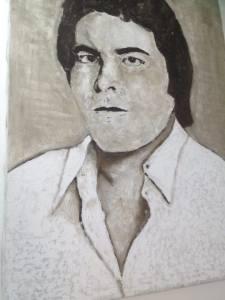 אבו טארק, ציור מאת חדר