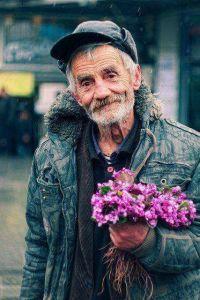 ילנה רבונץ , פרחים מאיש זקן ליום האישה