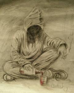 Bidesh Pell, מוות שותה לשוכרה