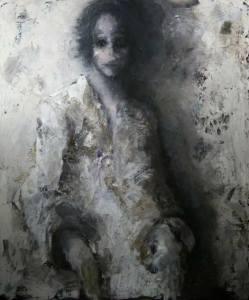 Dagmar Artmuse Scheel , עולם ומלאו..אישה בקיר.., Moshe Kohen