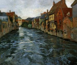 פריץ תאלואו, רחוב-נהר, 1894