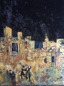 Raquel Egosi , ירושלים , הכובד של השמחה..בעיר המוזהבת